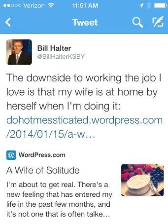 Bill's Tweet