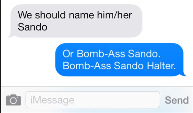 Sando Text 2