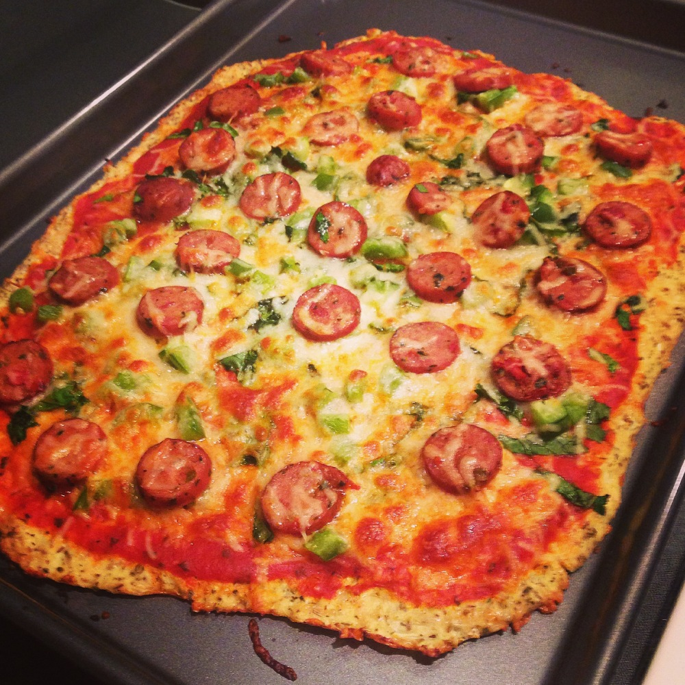 Grain-Free Cauliflower Crust Pizza